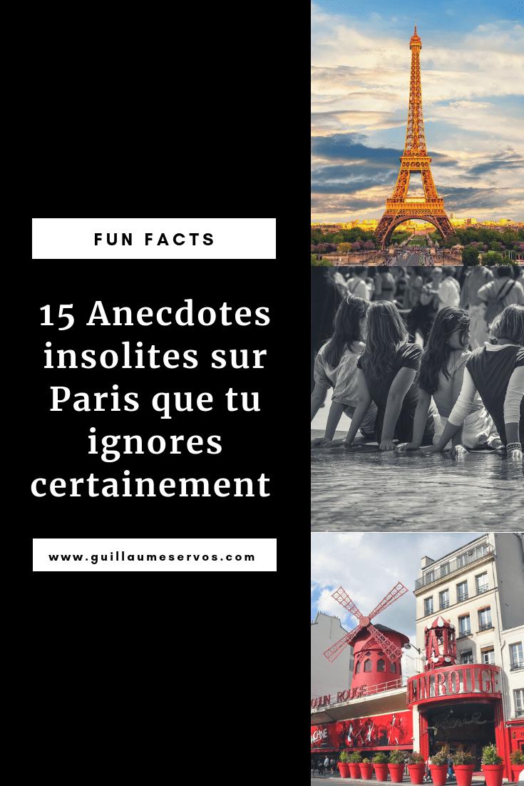 Connais-tu vraiment Paris ? Découvre des anecdotes insolites que tu ignores certainement sur la Tour Eiffel, l'Arc de Triomphe, la place de la Concorde, le Pont Neuf.