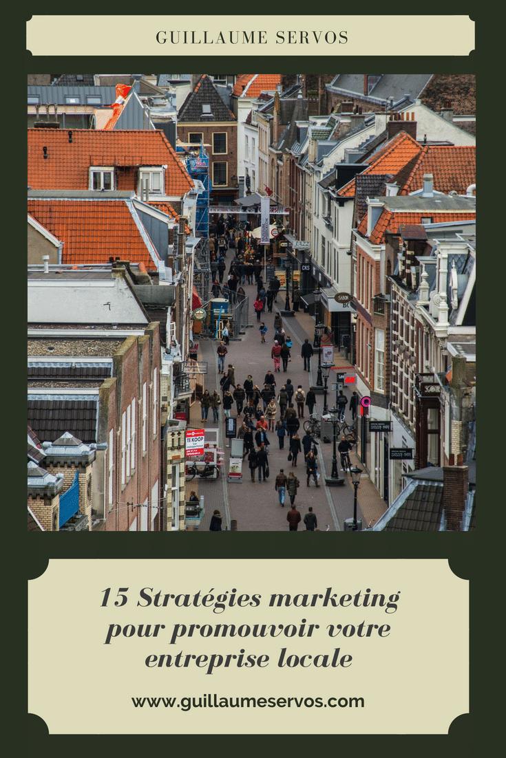 Pour survivre et prospérer, votre entreprise localea besoin d'apprendre comment s'adapter aux nouvelles tendances du marketing. Au menu, vous découvrirez 15 stratégies marketing empruntées à Neil Patel.