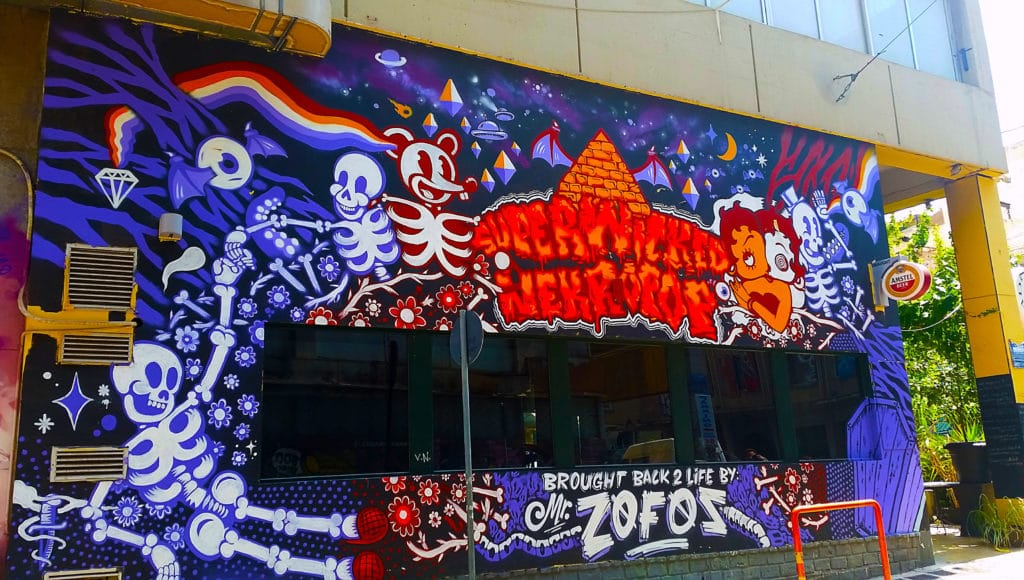 street art à Gazi dans Athènes, Grèce