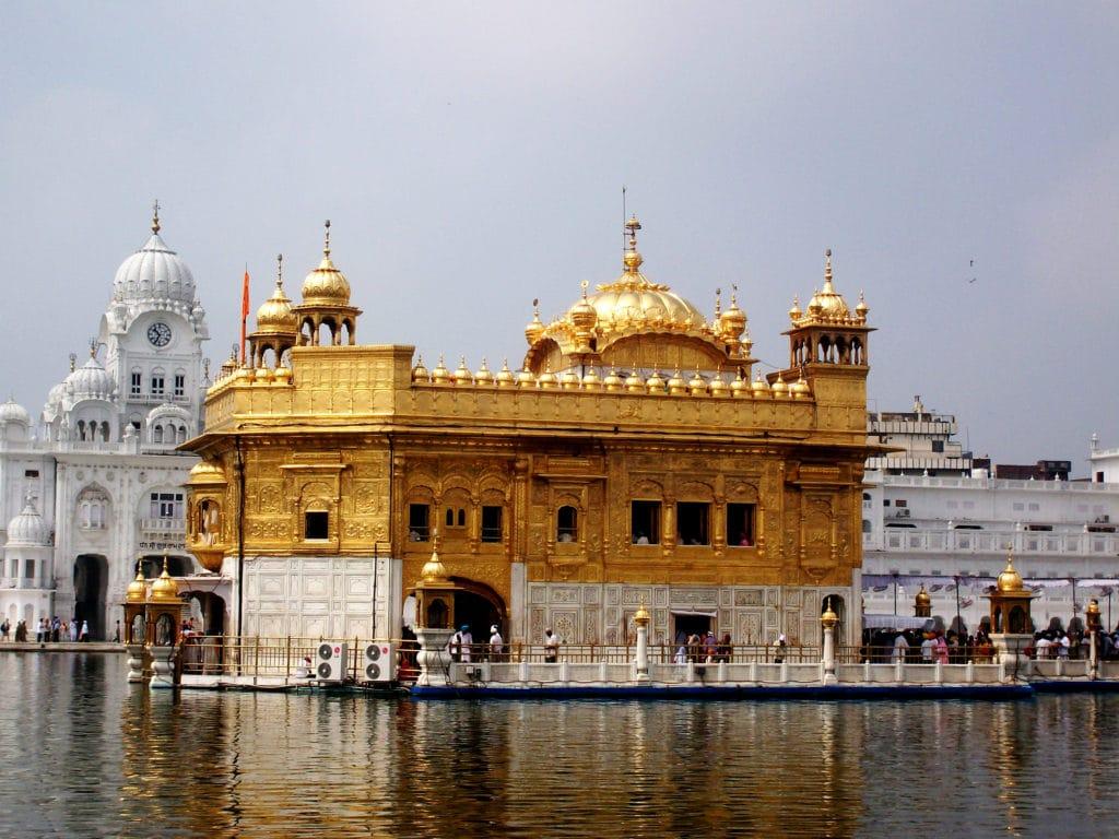 Le Golden Temple à Amristar au Pendjab, Inde.