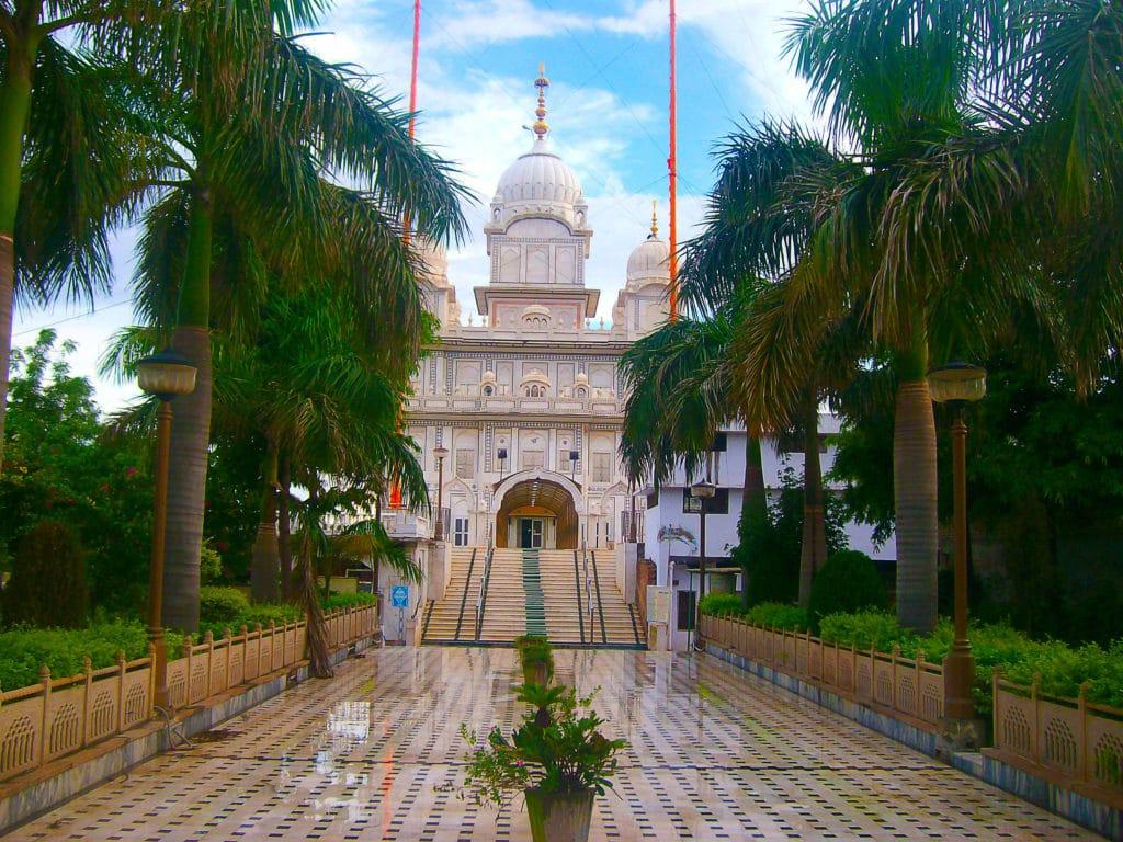 Temple Sikh de Gwalior, Madhya Pradesh, Inde