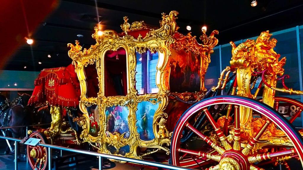 Carrosse royale, musem of London, Londres