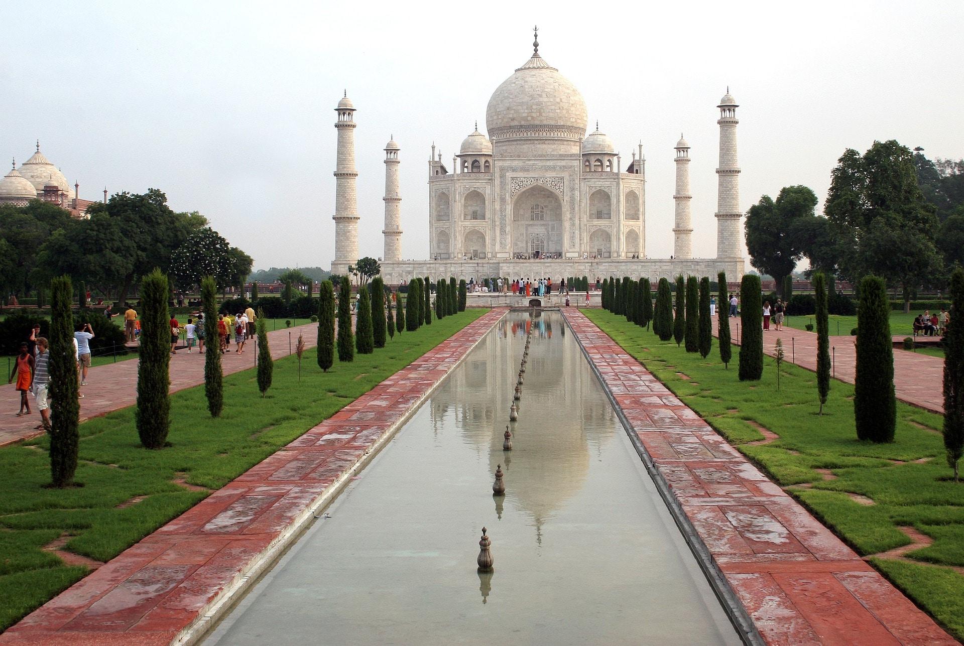 Taj Mahal, Agra, Inde.