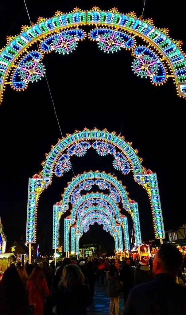 Winter Wonderland Festival à Hyde Park, Londres