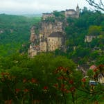 le village de Rocamadour dans le Lot
