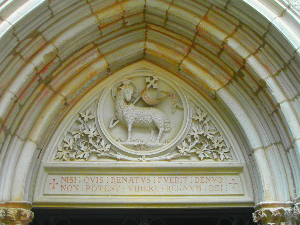 Entrée de la chapelle Notre-Dame à Rocamadour, Lot
