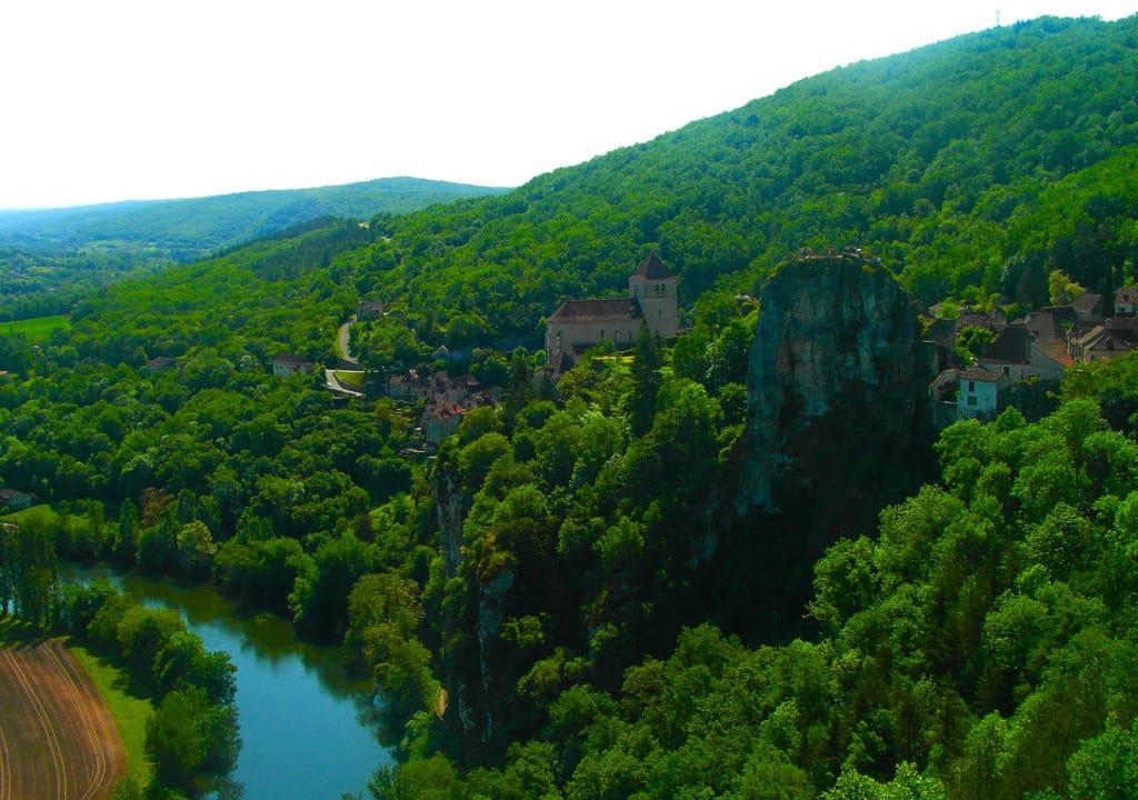 Saint Cirq Laopie dans le Lot classé parmi les plus beaux villages de France