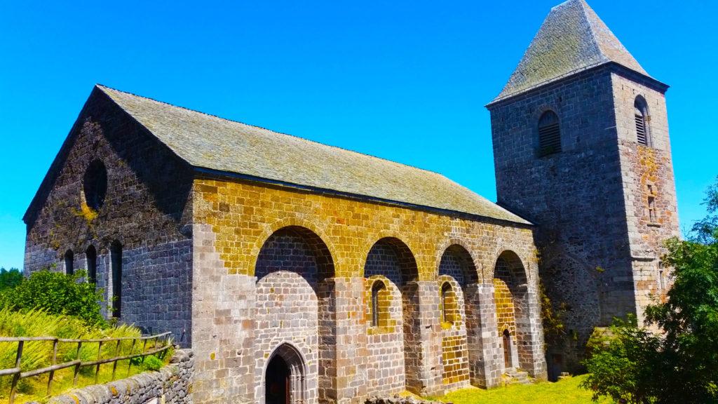 l'église d'Aubrac, Aveyron