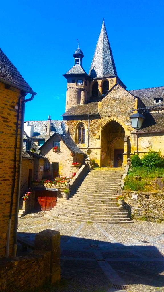 L'église d'Estaing, Aveyron