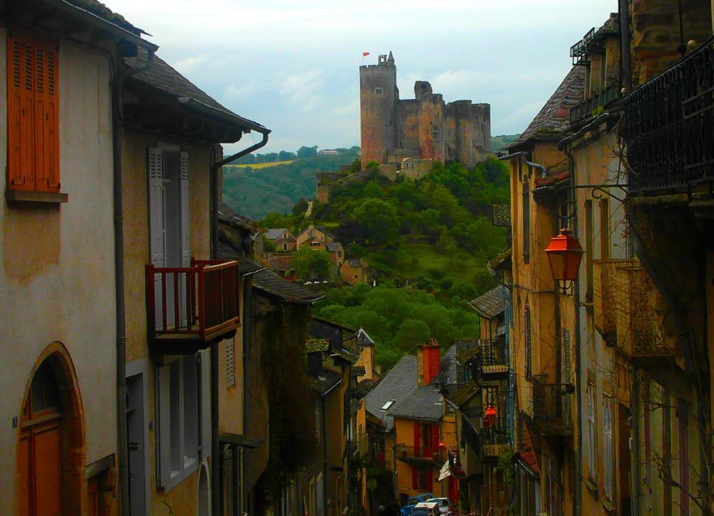 Najac, plus beaux villages de France, Aveyron