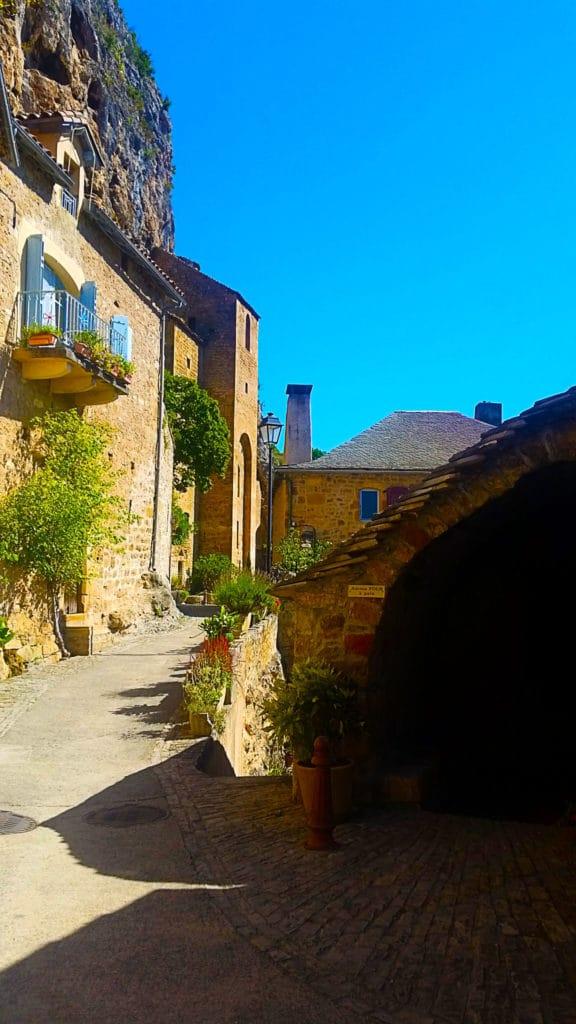 Le village de Peyre près de Millau, Aveyron