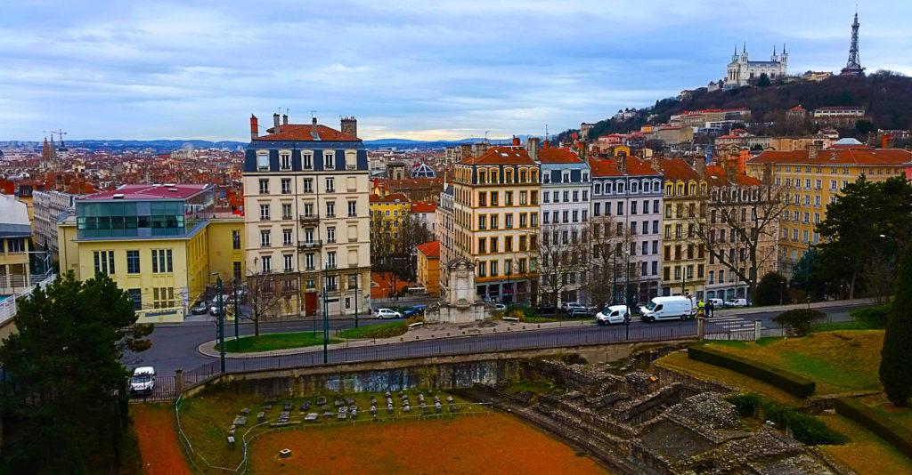 Vue de Lyon de la Croix Rousse