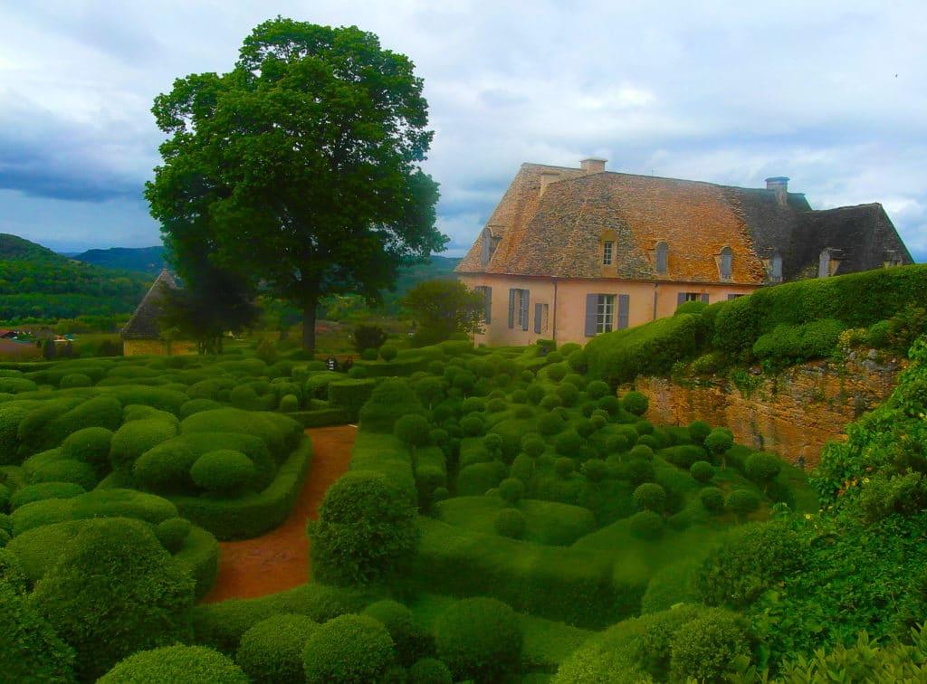 Les jardins suspendus de Marqueyssac à Vézac, Périgord noir, Dordogne