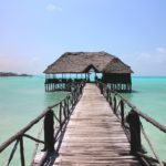 Ponton vers l'océan Indien, Zanzibar en Tanzanie