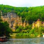 Vallée de la Dordogne près de la Roque-Gageac, bienvenue dans le Périgord noir