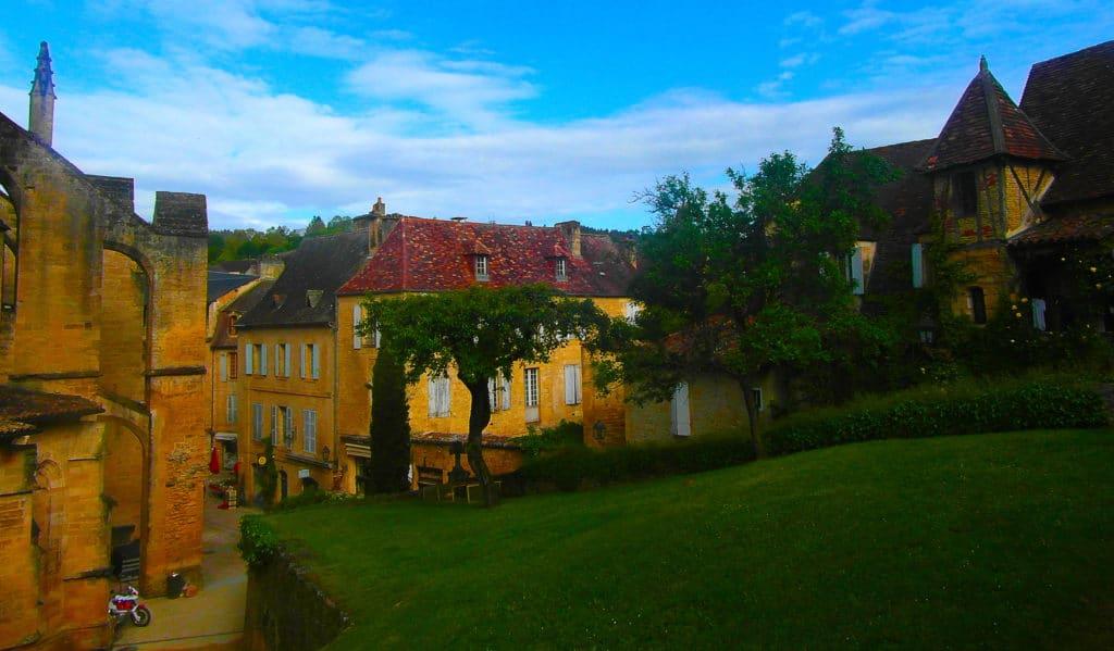 La ville de Sarlat dans le périgord noir, Dordogne