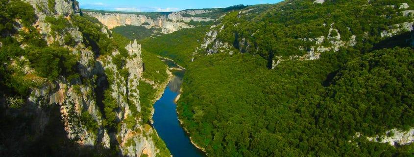 Les sublimes gorges de l'Ardèche