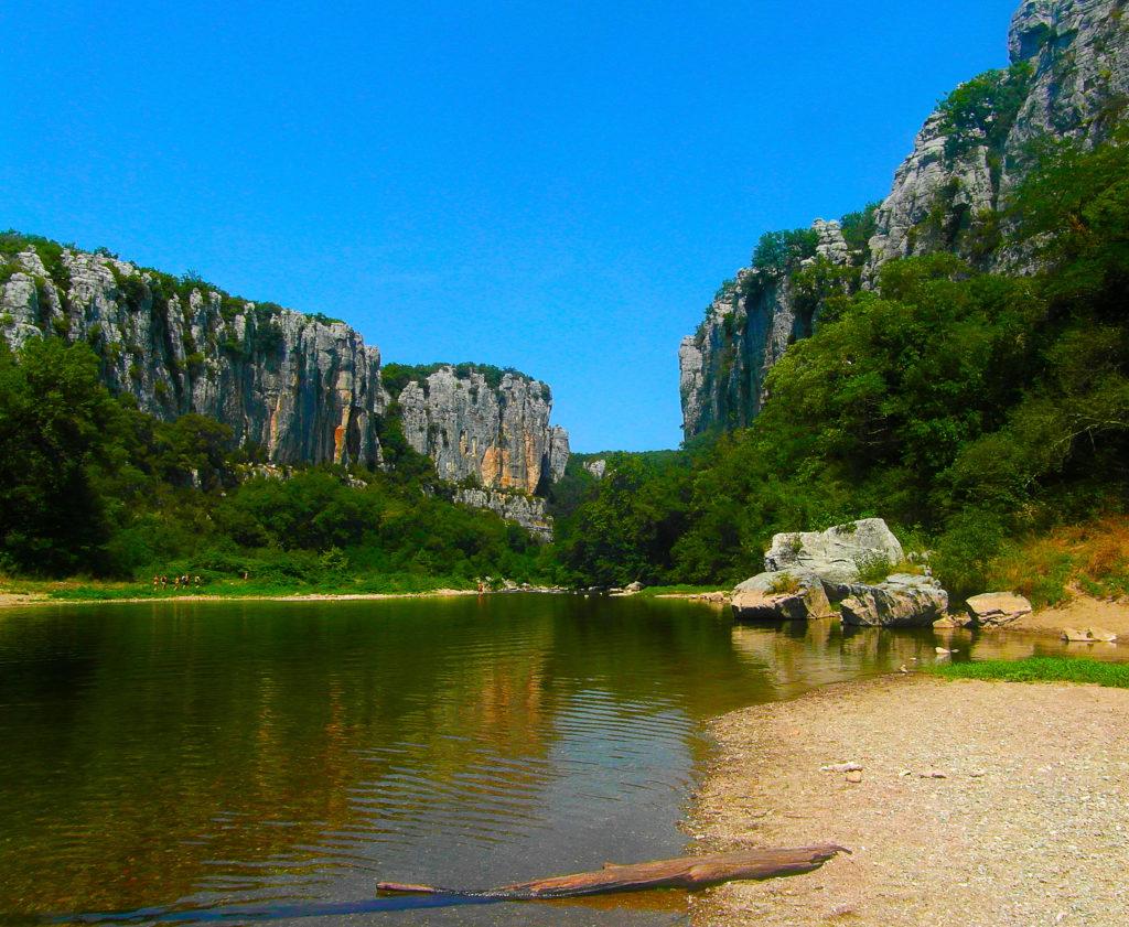 Les gorges de Chassezac en Ardèche