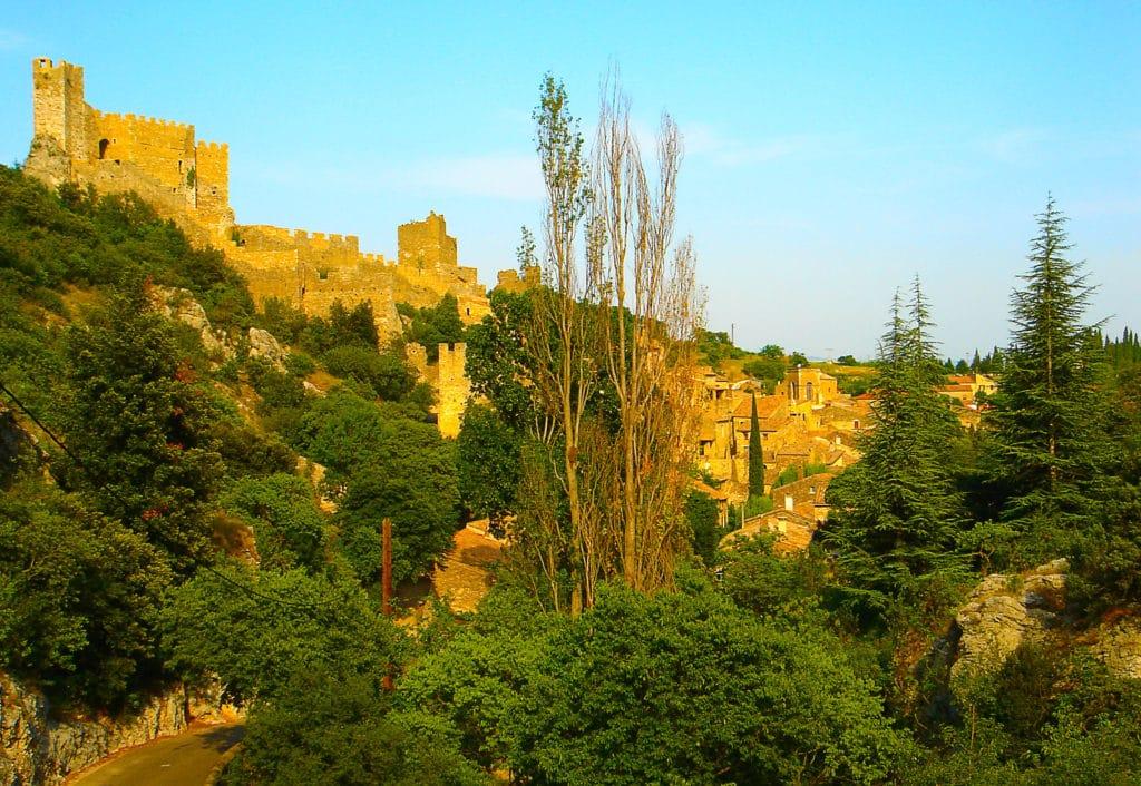 le village de caractère de Saint Montan en Ardèche