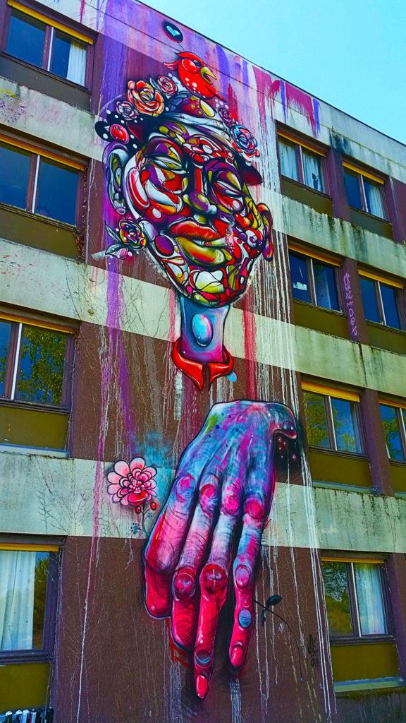 Street Art City de Lurcy-Lévis dans l'Allier