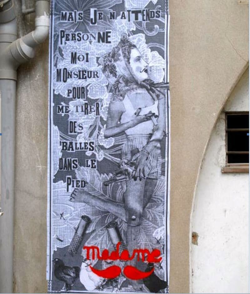 le street art et Wonderbrunette