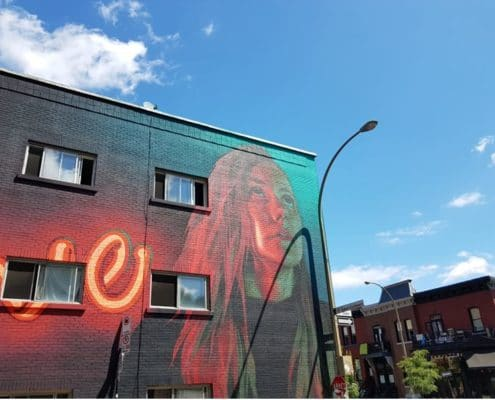 Interview de la blogueuse street art Wonderbrunette