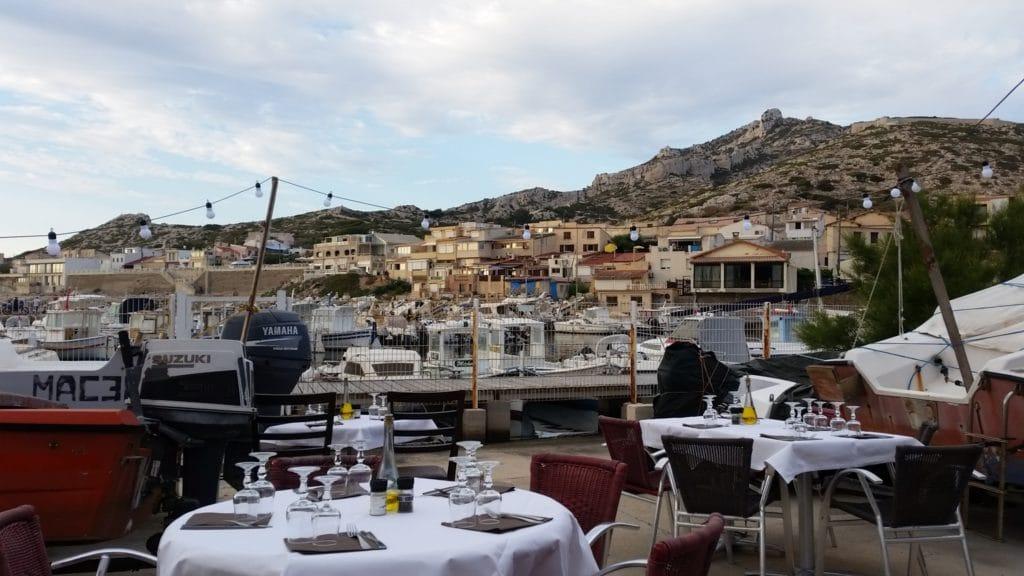 Restaurant Chez Paul aux Goudes, aimer Marseille