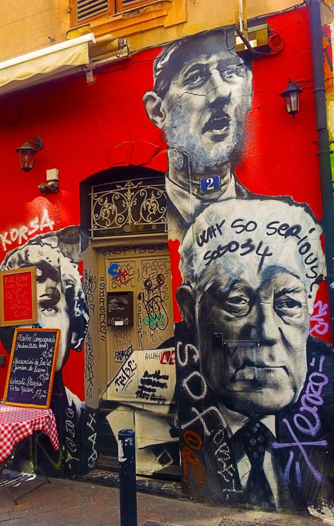 Quand le street art fait son cinéma, Cours Julien à Marseille