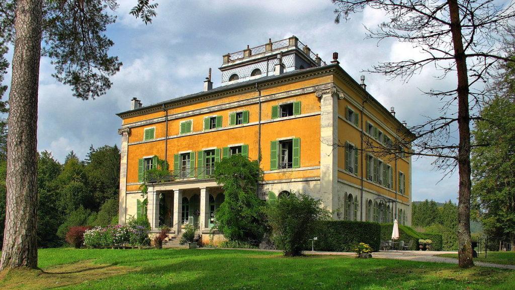 Le château de Syam, un bel exemple de villa palladienne près de Champagnole dans le Jura