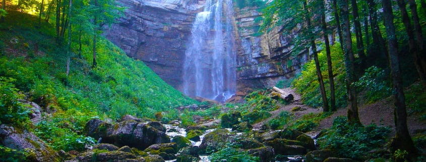 Les cascades du Hérisson, Jura
