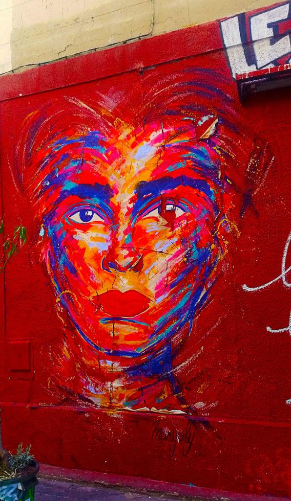 le Street Art de Manyoly Cours Julien à Marseille