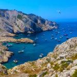 Les îles du Frioul au large de Marseille