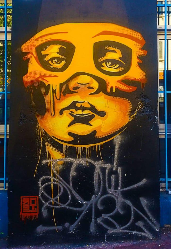 le street art de RNST Cours Julien à Marseille