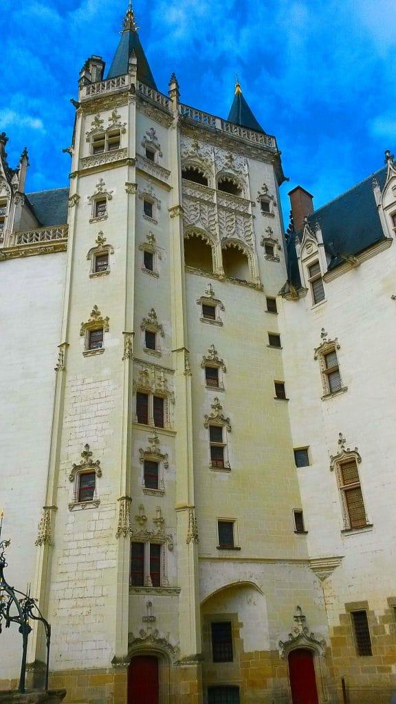 le Grand Logis au château des ducs de Bretagne à Nantes