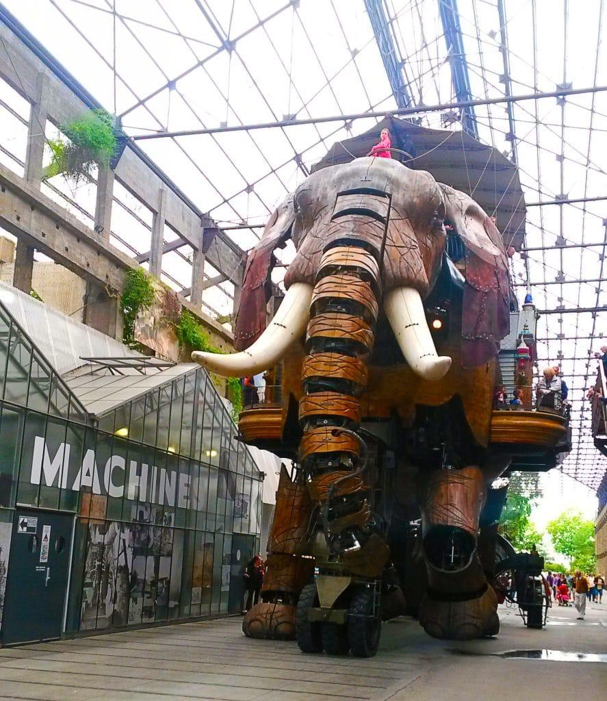 le grand éléphant, les machines de l'île, Nantes.