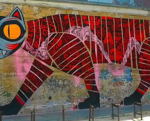 balade street art et graffiti en 10 photos à Nantes