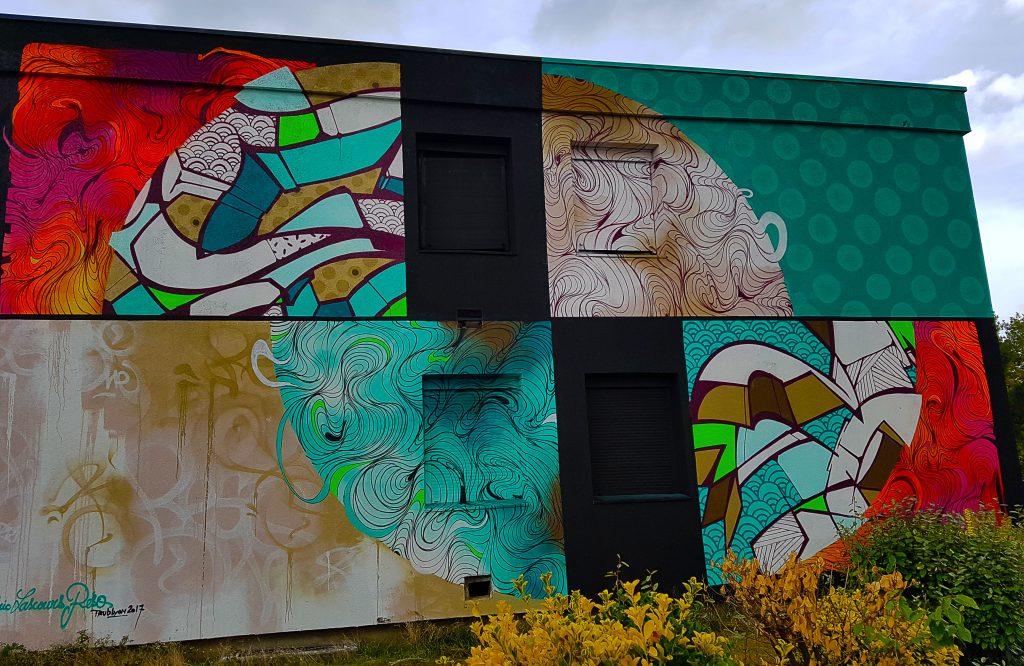 l'entrée du TrubLyon Street Art Festival