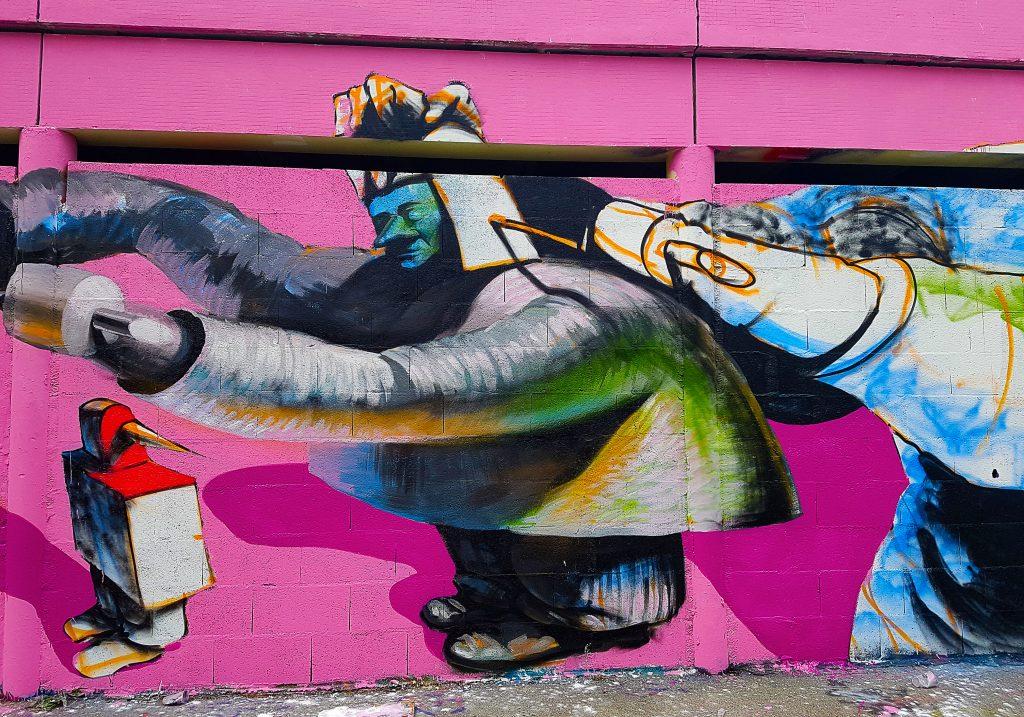 la Colombie au TrubLyon Street Art Festival 2017.
