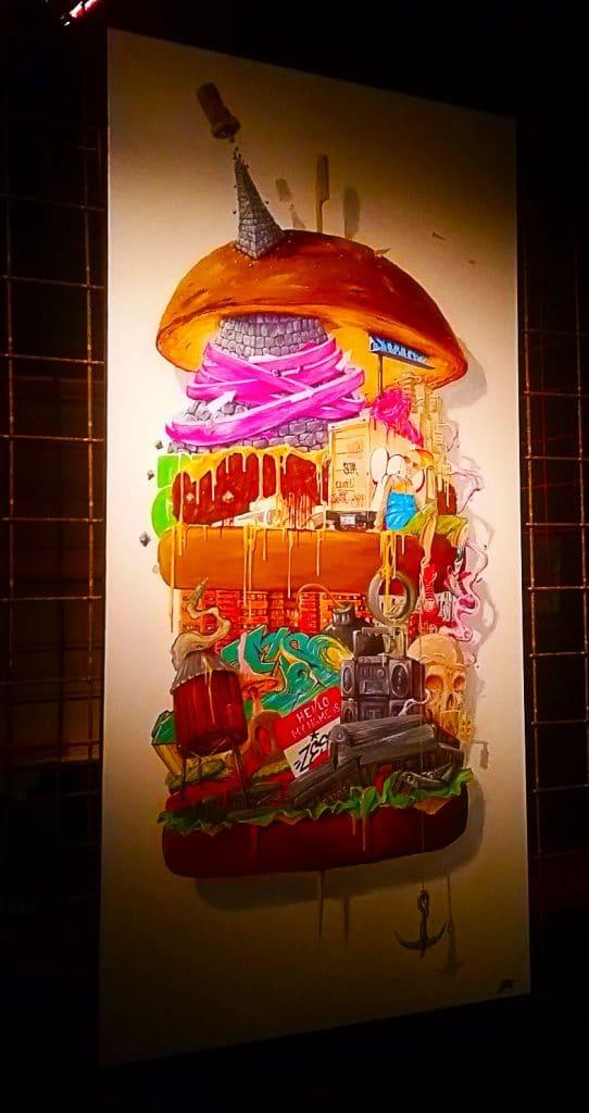 Résidence d'artistes et un lieu dédié aux expositions temporaires. Zeso à la Street Art City de Lurcy-Lévis.