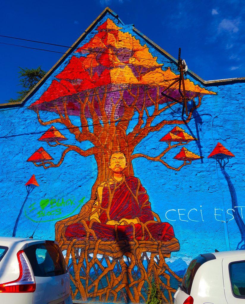 Artiste Inconnu, Angle rue Marx Dormoy et rue Mozart