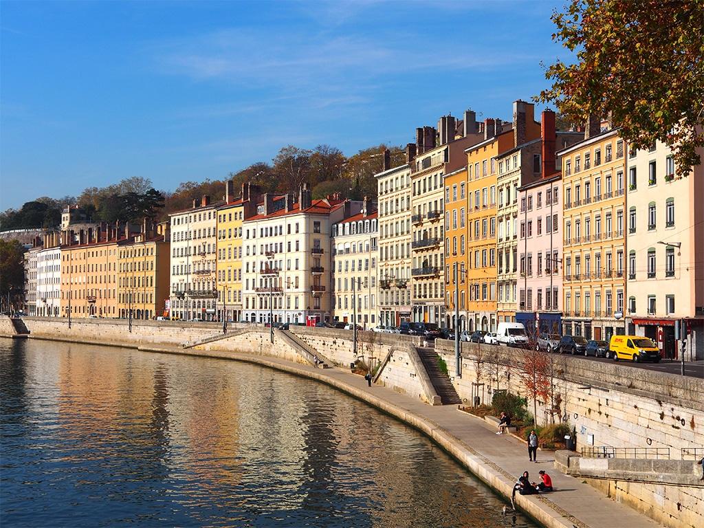 photo de Lyon et des quais de Saône par Argone, Interview.