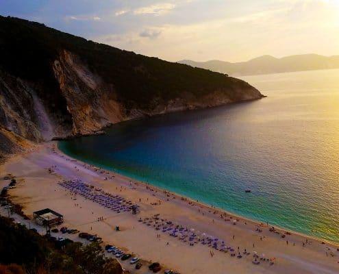 5 plages de rêve à Céphalonie, Kefalonia,Grèce.