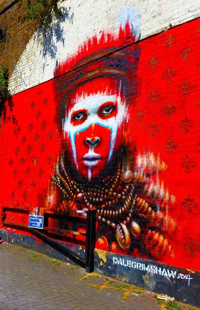 le sublime street art de Dale Grimshaw à Camden, Londres