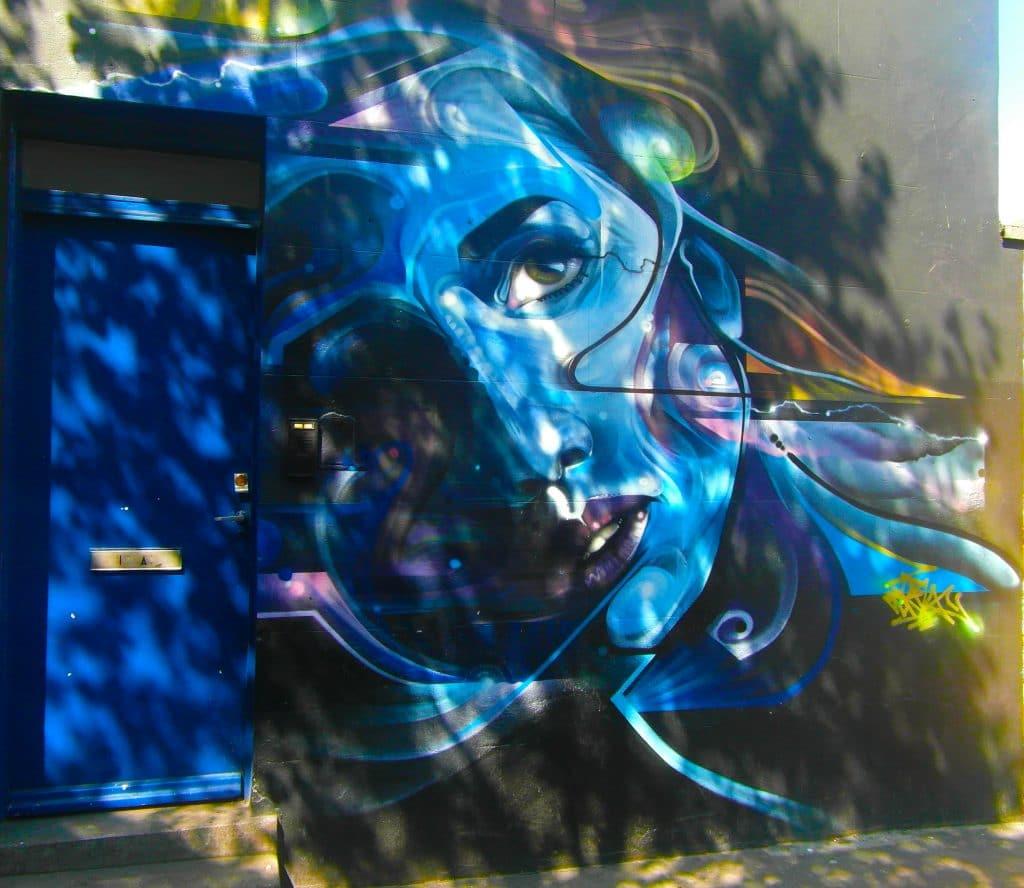 le street art de Mr Cenz dans le quartier de Camden à Londres