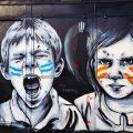 Balade street art en 10 photos à Londres : Zabou à Bethnal Green