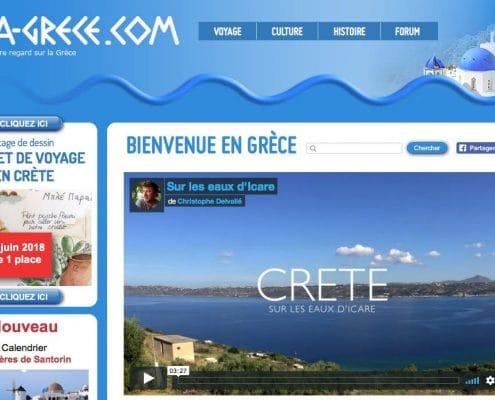 Interview du blogueur voyage Christophe Delvallé de la-grece.com