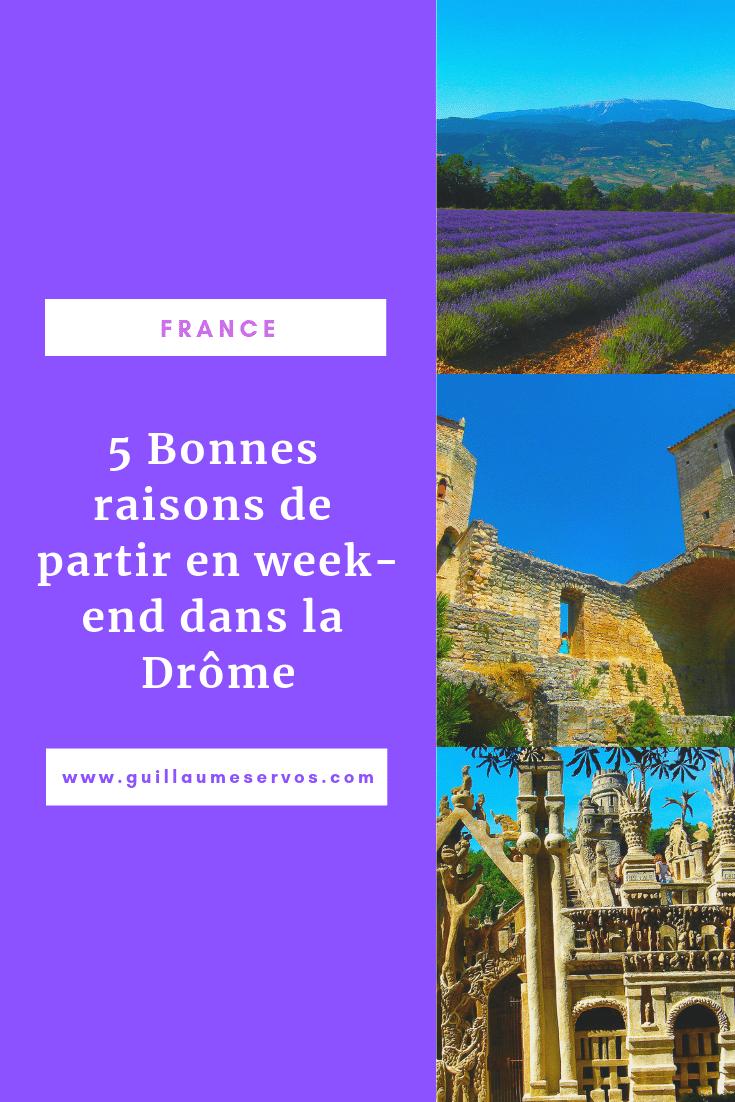 Découvre la Drôme authentique que j'aime. Au menu : Palais du Facteur Cheval, Combe-Laval, jardin zen d'Eric Borja, Die, Vercors...