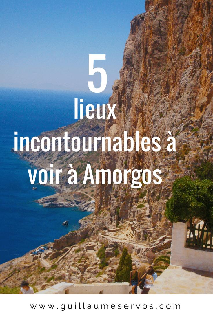 Découvre 5 lieux incontournables à voir à Amorgos dans les Cyclades en Grèce