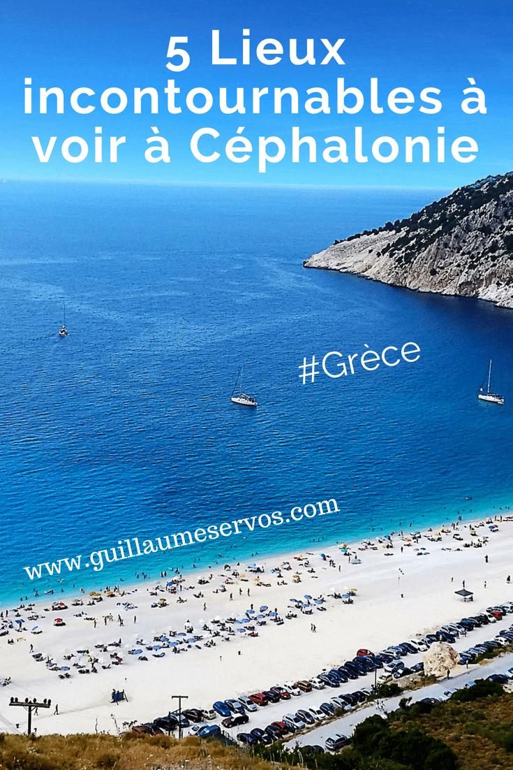 Découvre 5 lieux incontournables à voir à Céphalonie, Grèce