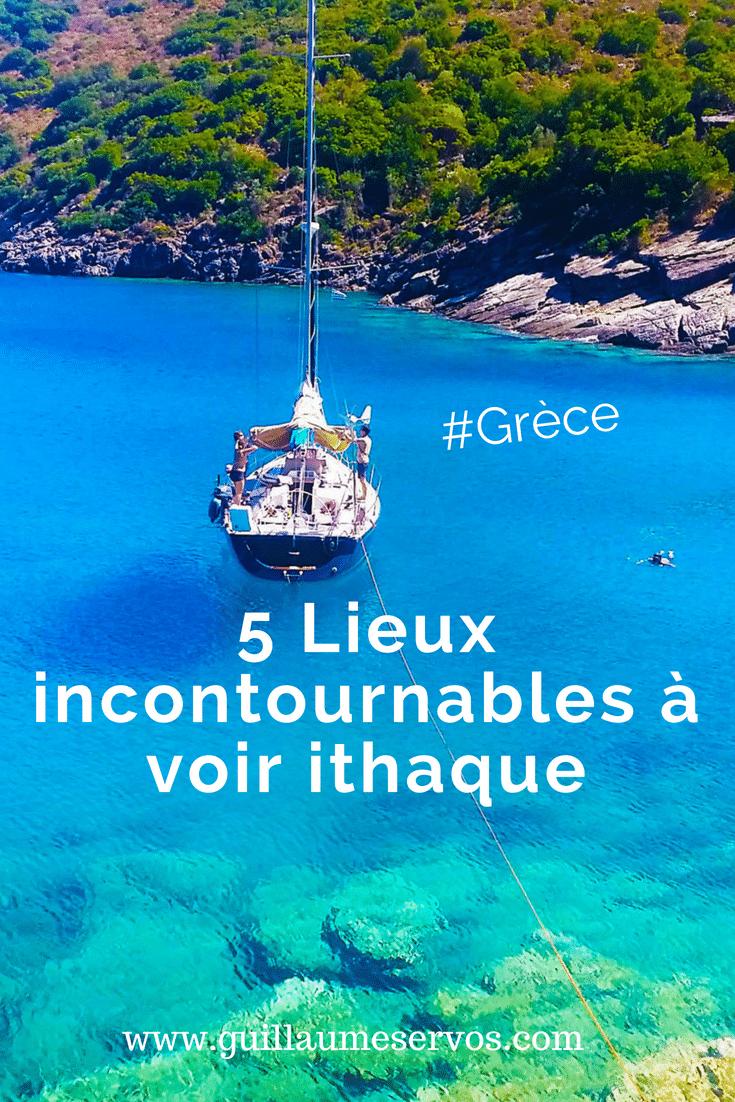 Découvre 5 lieux incontournables à voir à Ithaque en Grèce